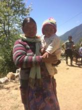 ANM Nabina Lama  Bargaun Birthing Centre