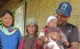 1st Baby born at Bargaun Clinic