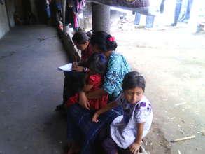 Caring for basic family needs