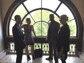 Corridors of Power: we held 27 meetings in WashDC