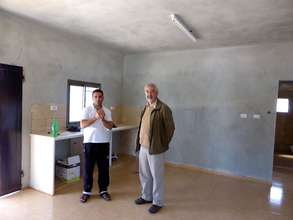 The open kitchen in Sadeq's new house