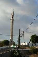 Al Aqaba built its mosque in shape of peace sign