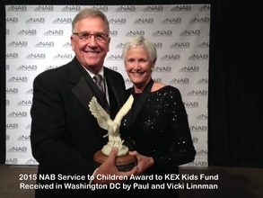 Paul & Vicki Linnman receive NAB Award