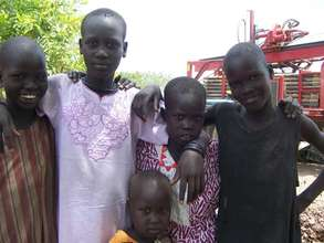 These boys now have fresh, clean water!