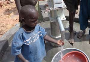 Child at well