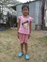 Girl awaiting a child sponsor