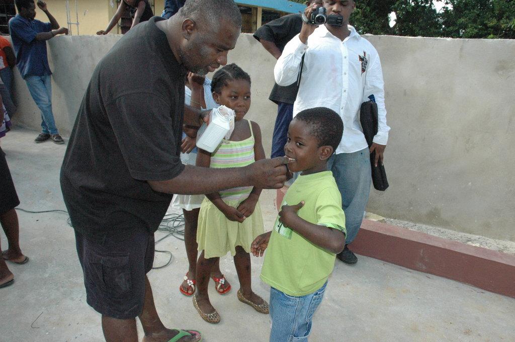 Help De-worm and Nourish Haiti's Children