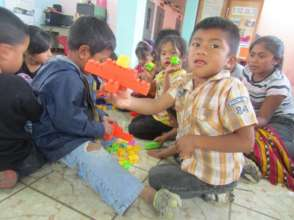 Children at library