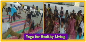 Yoga for Healthy Living.
