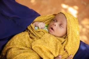 Three-week-old Mohamed