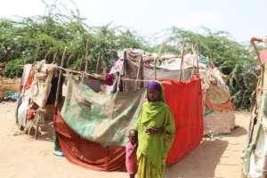 Nalow in Somalia's Domey camp