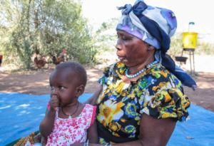 Nina and her grandmother