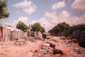 Poor sanitation conditions in Mogadishu