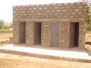 Denba Gofa (Sezga Elementary School) latrine