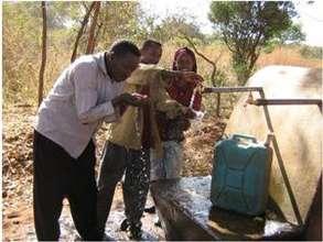 A new water station in Bonke Woreda