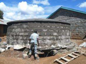 Construction of tank ongoing
