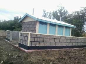 Girls' only latrine- Murichu Primary