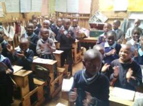 Some of Ritaya pupils in class