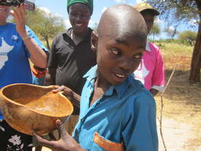 Student Drinks Clean Water