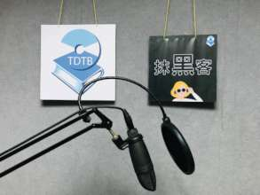 Podcast program for visually impaired people