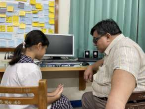 Visually Impaired Students computer teaching