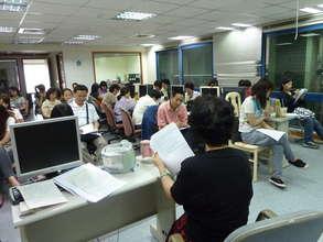 volunteer training class