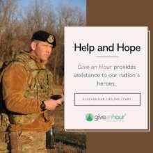 Please help us serve those who serve.