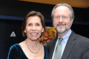 Barbara with her husband, Dr. Randy Phelps