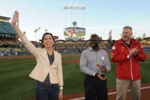 Military Awareness Night at LA Dodgers Stadium