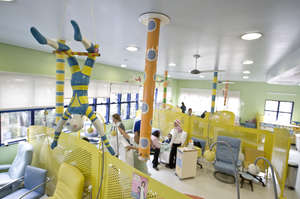 GRAACC's Therapeutical Chemotherapy Room