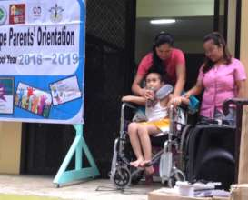 Orientation for New Arrivals at House of Hope