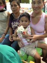 Toys give children comfort and joy