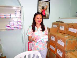 AAI donated medicines at Philippine Cancer Society