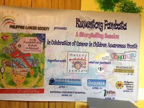 Children with Cancer Awareness Event April 20014