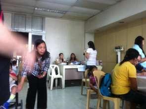 Clinic for PSOD Children at Phil Gen Hospital