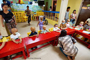 fun activities for children in cancer care