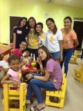 House of Hope children and teen volunteers