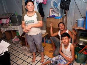 Inside Paul's home in Cavite ghetto