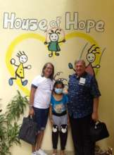 AAI Dir. Santoli visits House of Hope, July 2017