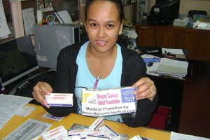 oncology medicines donated from US