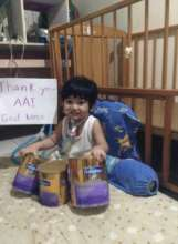 Special child with AAI nutritional supplements