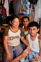 Paul with parents