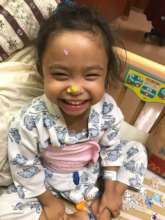 Baby Brielle After Liver Transplant