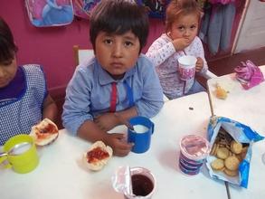 """Campania """"Por el Desayuno de un Ninos"""": Chaco"""