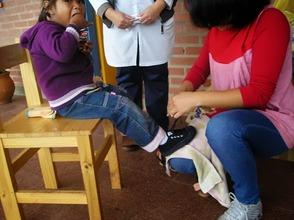 Shoes, parasites prevention (Misiones)