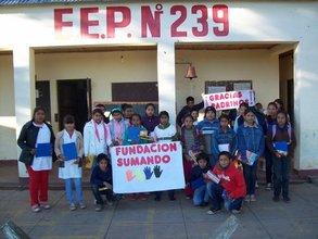 Escuela 239_ Chaco: Donaciones y Desayunos