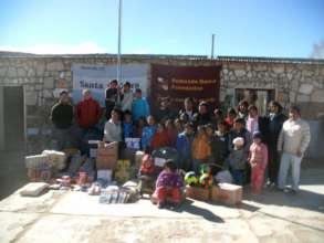 School receiving donations in Jujuy
