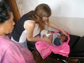 Servicio Pediatrico en Los Oleros (Misiones)