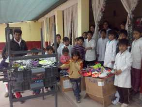 Shoes - donation for school located in Salta