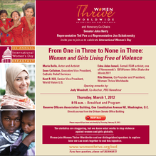 March 1, 2012 - Invitation to Breakfast Briefing